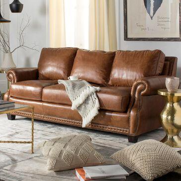 Safavieh Brayton Sofa in Brown, , large