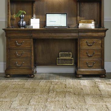 Hooker Furniture Archivist Computer Credenza in Soft Pecan, , large