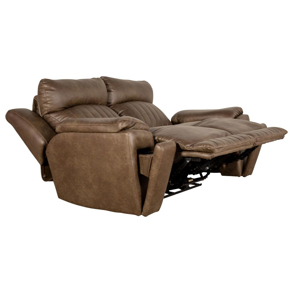 Southern Motion Socozi Power Reclining Loveseat in Cocoa, , large