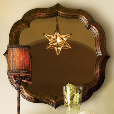 Tommy Bahama Home Royal Kahala Lotus Blossom Mirror, , large