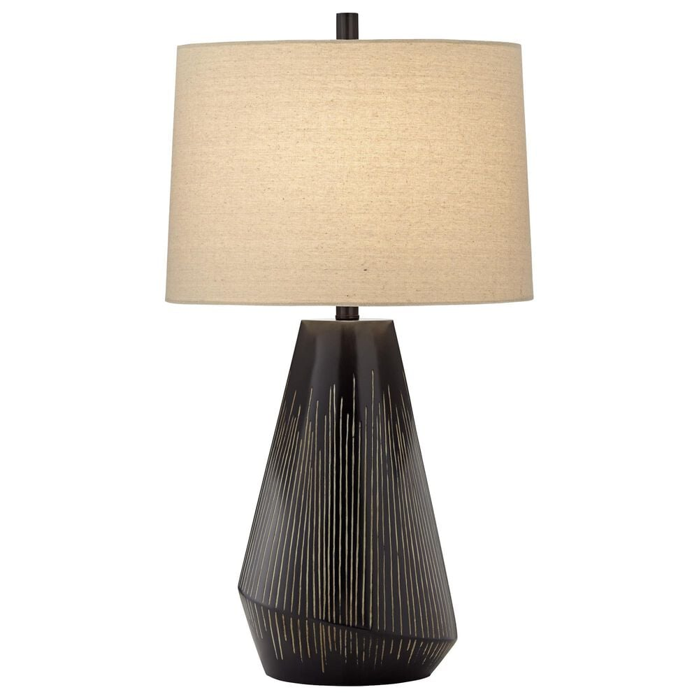 Pacific Coast Lighting Briones Table Lamp in Charcoal, , large