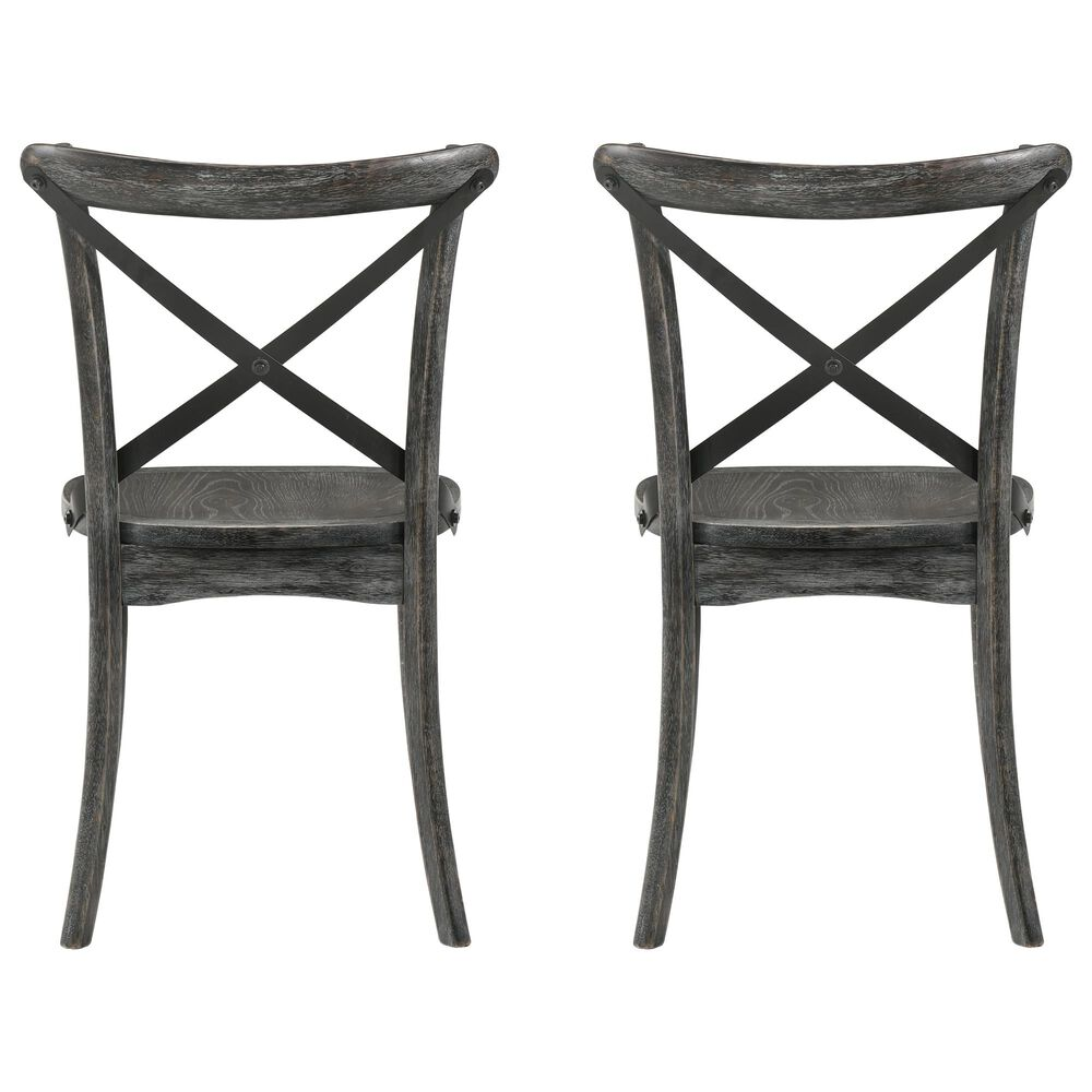 Gunnison Co. Kendric Side Chair in Rustic Gray (Set of 2), , large