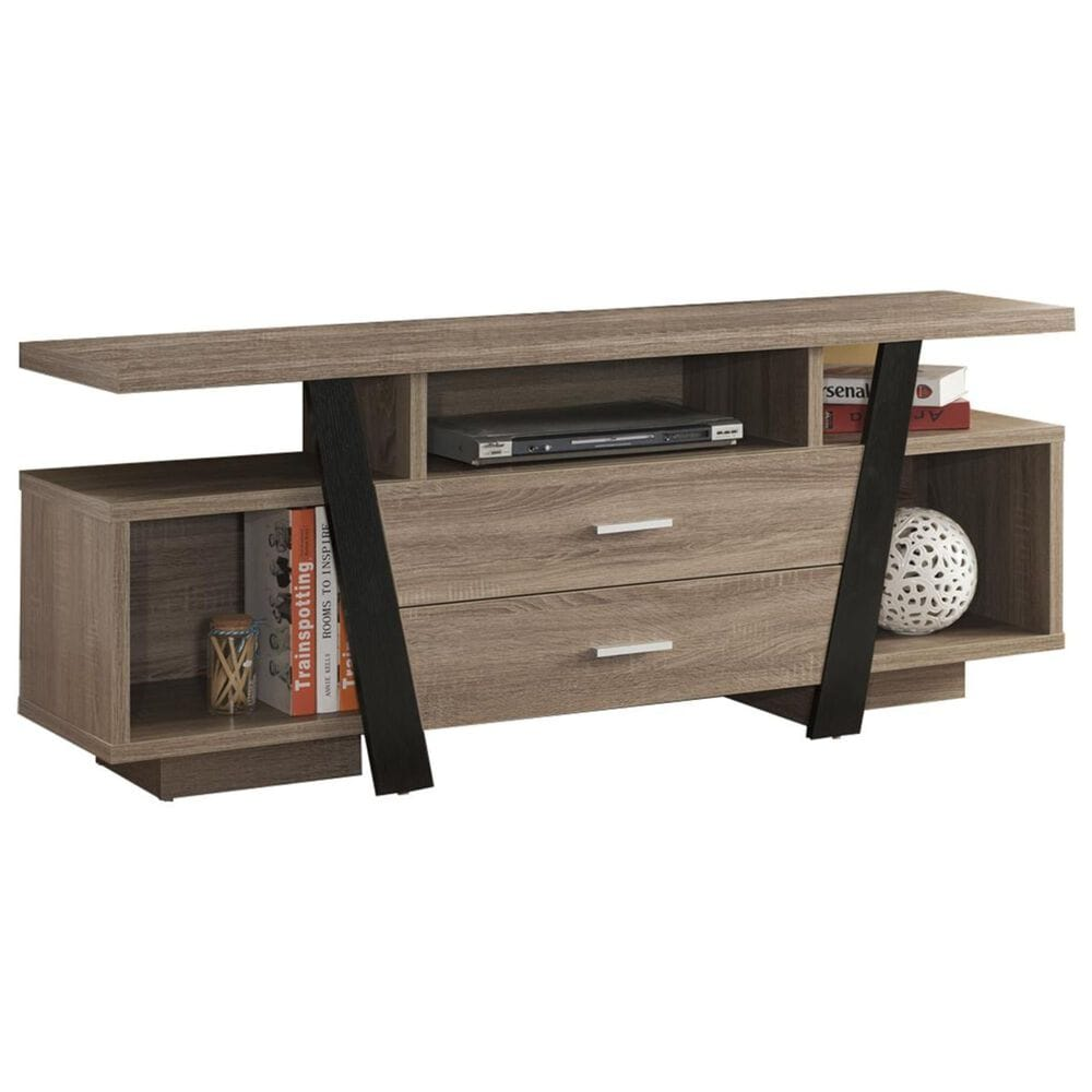 """Global Movement 60"""" TV Stand in Dark Taupe, , large"""