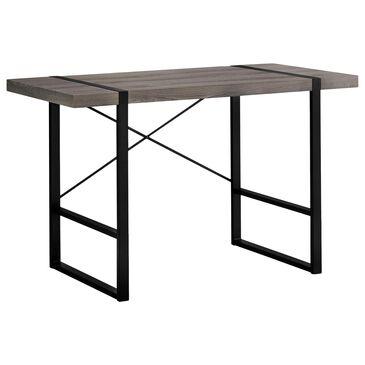 Monarch Specialties Computer Desk in Grey, , large