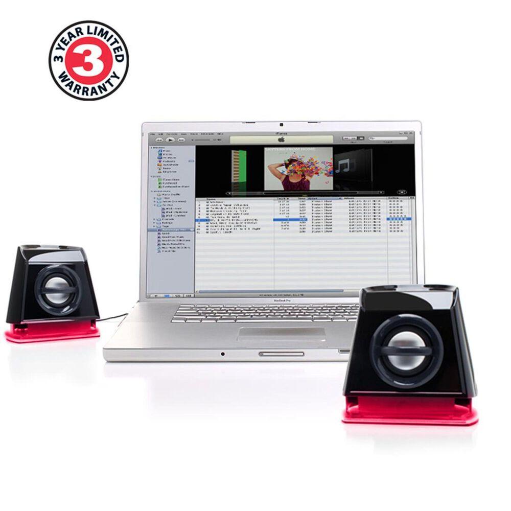 Go Groove BassPULSE 2MX 2.0 USB Multimedia Computer Speakers , , large