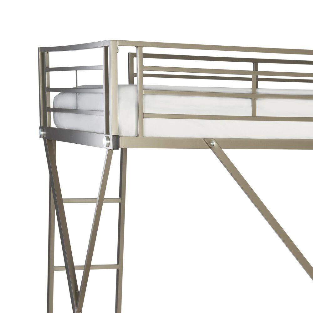 Parkerville Furniture Line Twin Z-Loft Bed in Pewter, , large