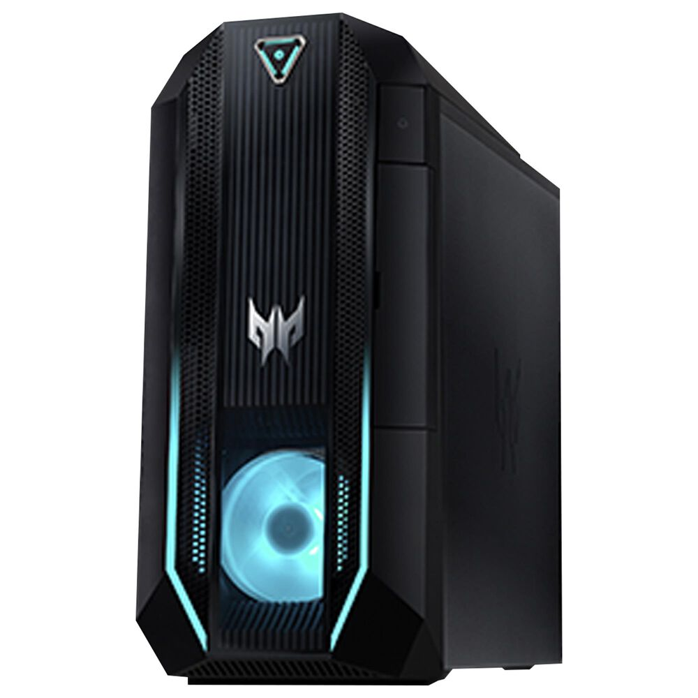 Acer Predator Orion 3000 Gaming Desktop Gaming Desktop | Intel Core i7-10700 - 16GB RAM - NVIDIA GeForce RTX 2060 - 1TB HDD + 512GB SSD in Black, , large