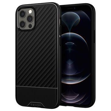 Spigen Core Armor Case For Apple iPhone 12 / 12 Pro in Matte Black, , large