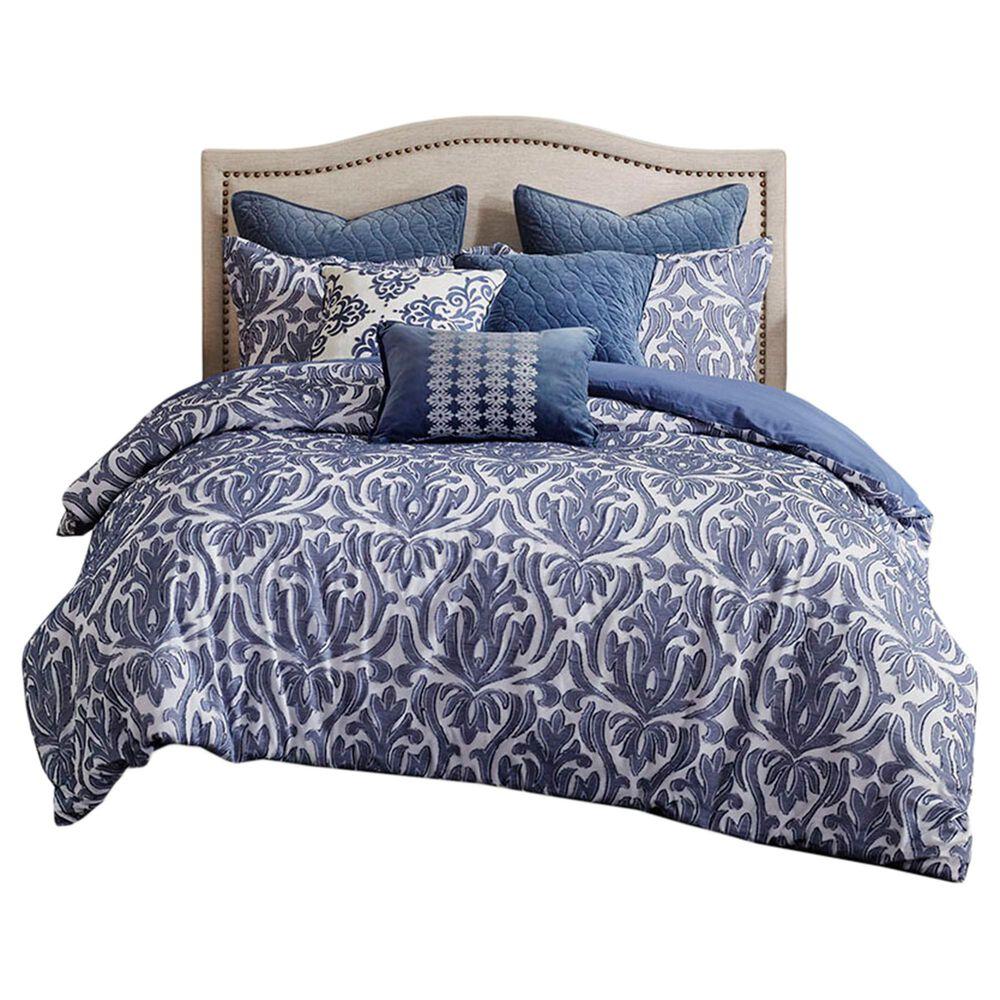 Hampton Park Maison 8-Piece Queen Comforter Set in Blue, , large