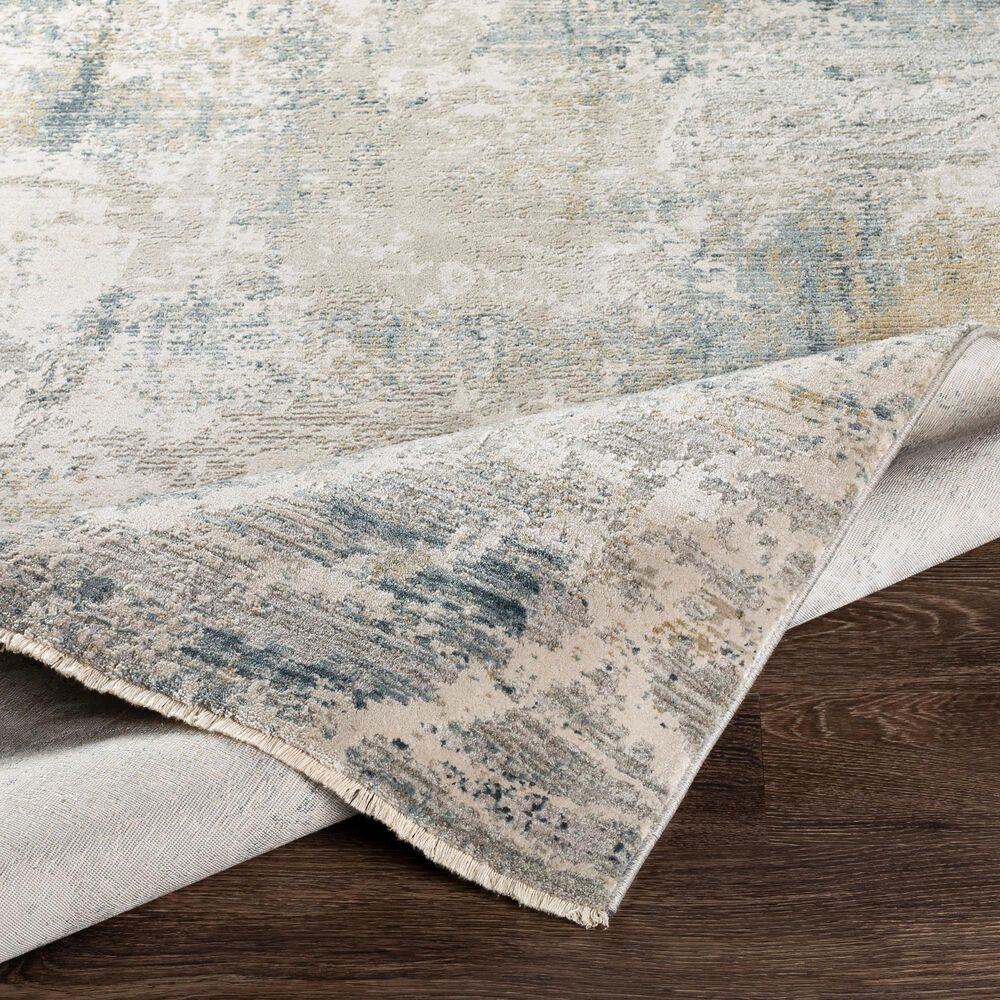 "Surya Brunswick 7'10"" x 10'3"" Blue, Sage, Olive and Gray Area Rug, , large"