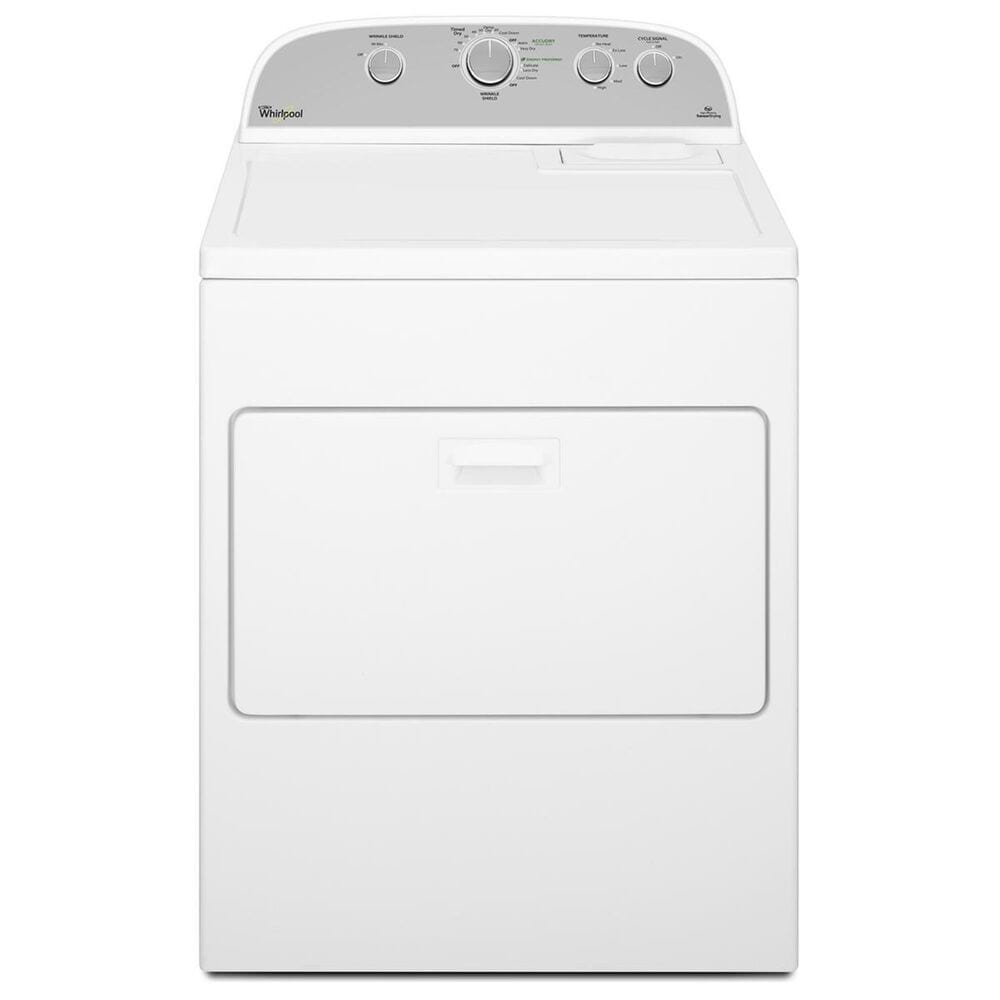Whirlpool 4.3 Cu. Ft. HE Top Load Washer and 7.0 Cu. Ft. HE Electric Dryer in White, , large