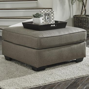 Benchcraft Calicho Oversized Accent Ottoman in Cashmere, , large