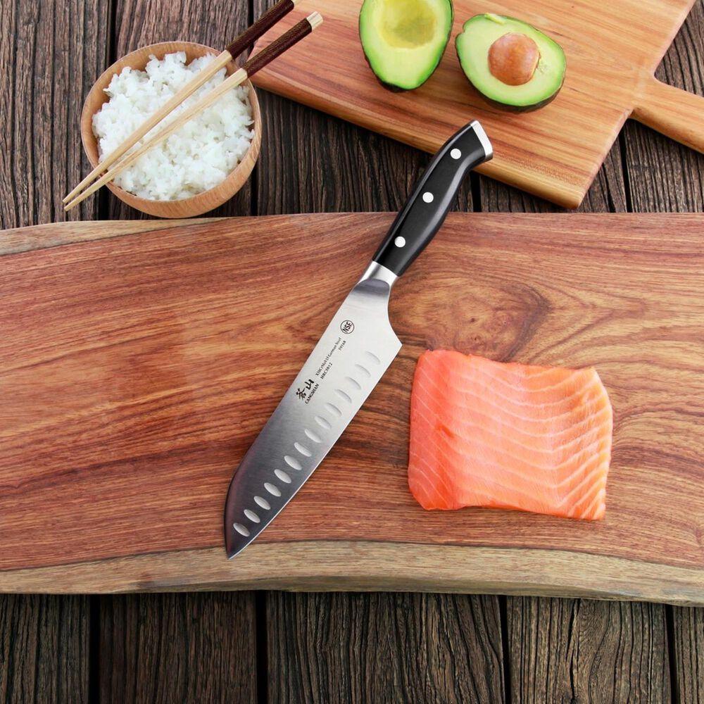 """Cangshan D Series 8"""" German Steel Forged Santoku Knife , , large"""