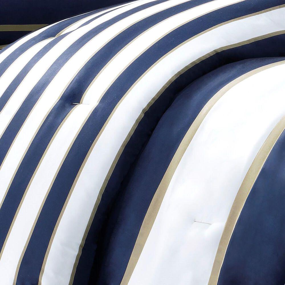 Hampton Park Ashton 4-Piece King/California King Comforter Set in Navy, , large