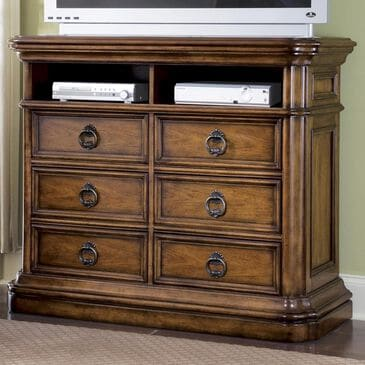 Chapel Hill San Mateo Media Chest in Rich Cherry, , large