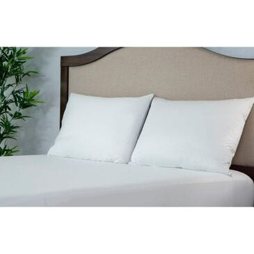 Protect A Bed AllerZip Smooth Pillow Encasement, Anti-Allergen & Bed Bug Proof, Queen (Pair), , large