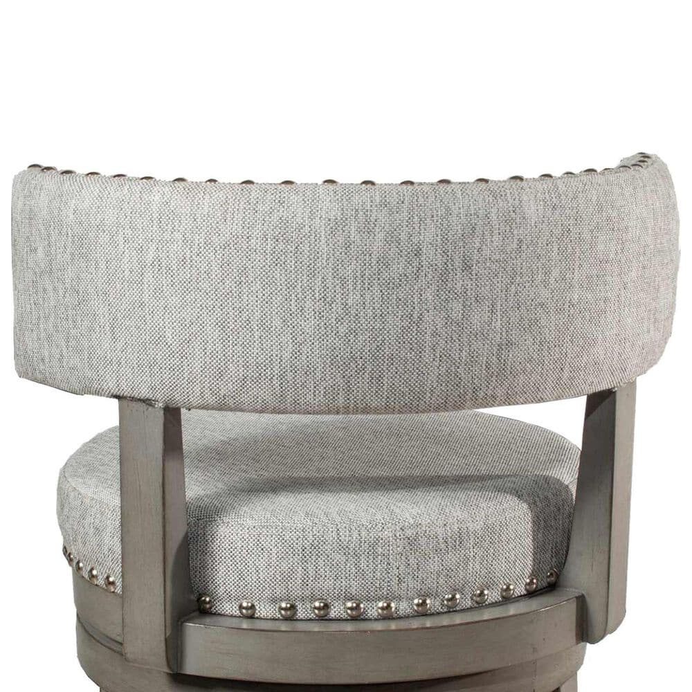 """Richlands Furniture Lawton 26"""" Swivel Counter Stool in Antique Gray, , large"""