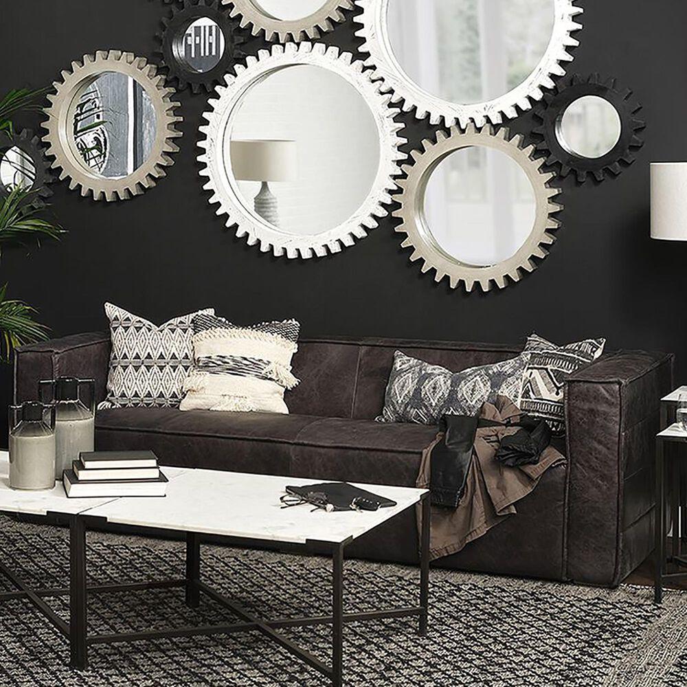 Mercana Stinson II Leather Sofa in Slate, , large