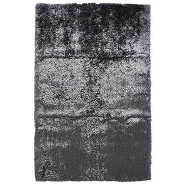 Feizy Rugs Blunham 4116F 5' x 8' Slate Area Rug, , large