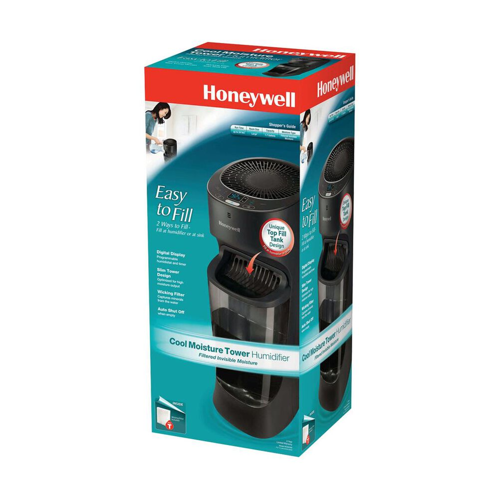 Honeywell Top Fill Cool Moisture Tower Humidifier With Digital Humidistat, , large
