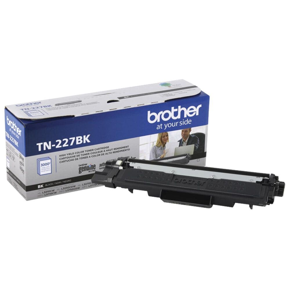 Brother TN227BK High Yield Toner Cartridge in Black, , large