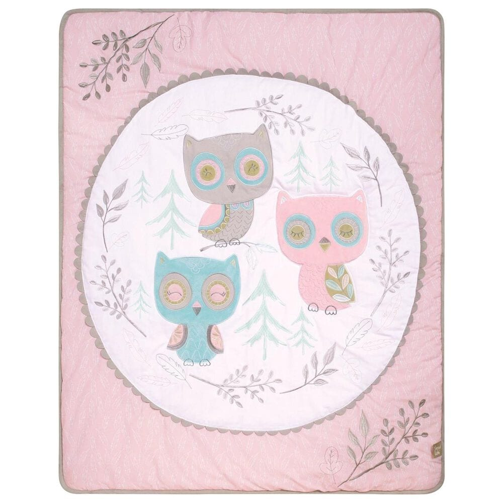 Trend Labs Feathered Friends 3-Piece Crib Bedding Set in Pink, , large