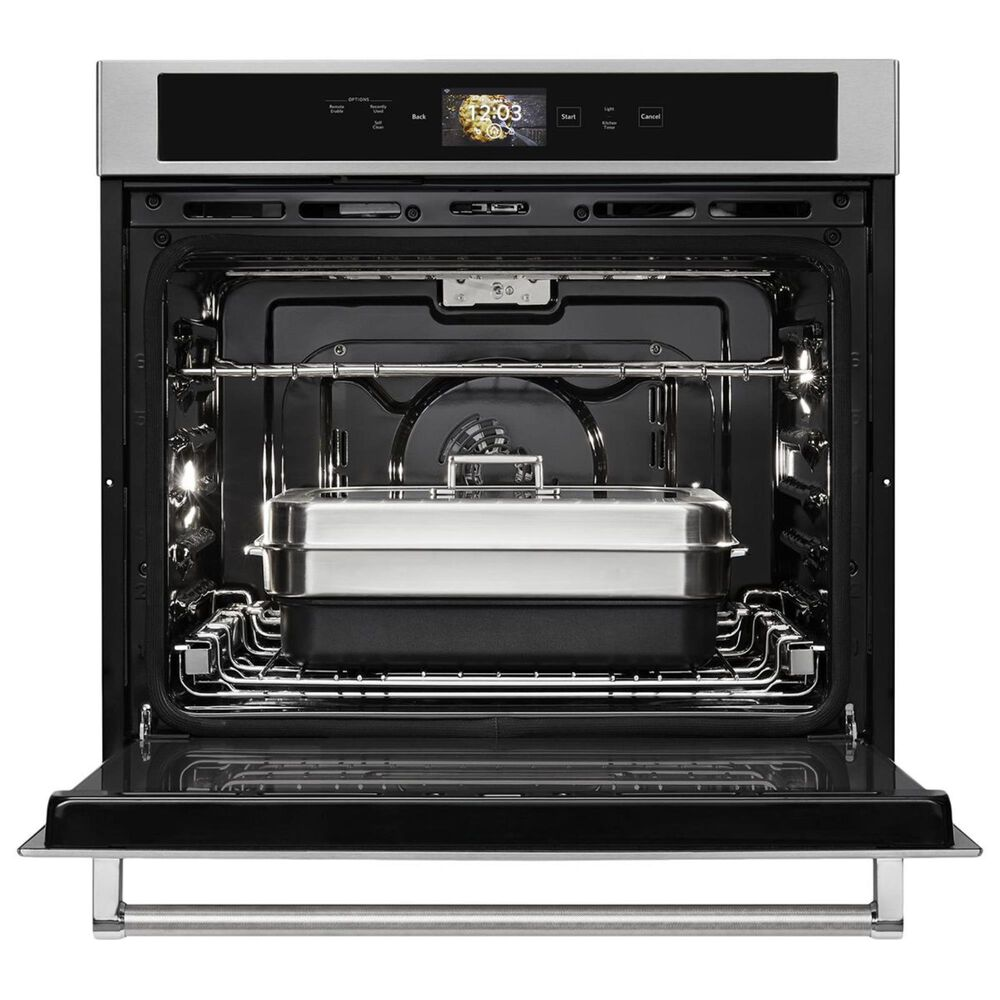 """KitchenAid 30"""" Single Wall Oven in Stainless Steel, , large"""