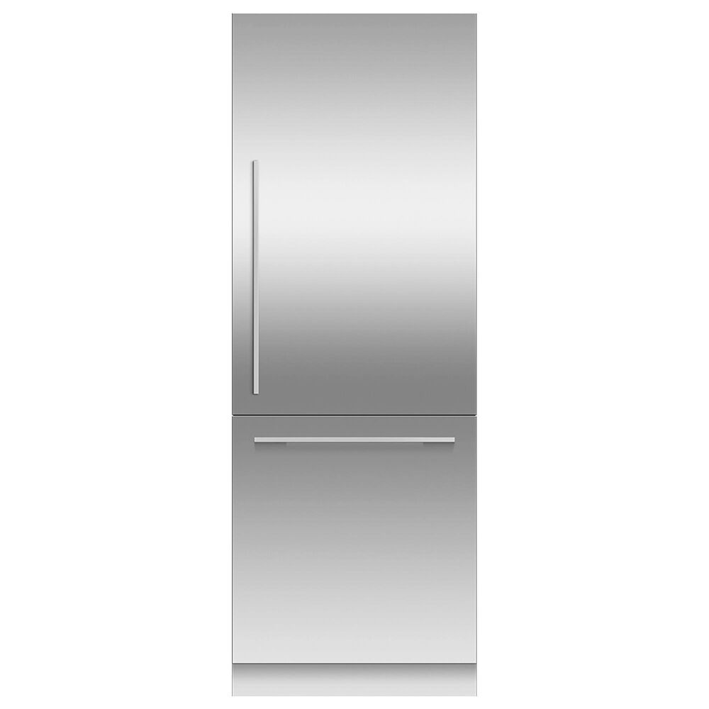 """Fisher and Paykel 30"""" Integrated Bottom Mount Column Door Panel Right Hinge in Stainless Steel, , large"""
