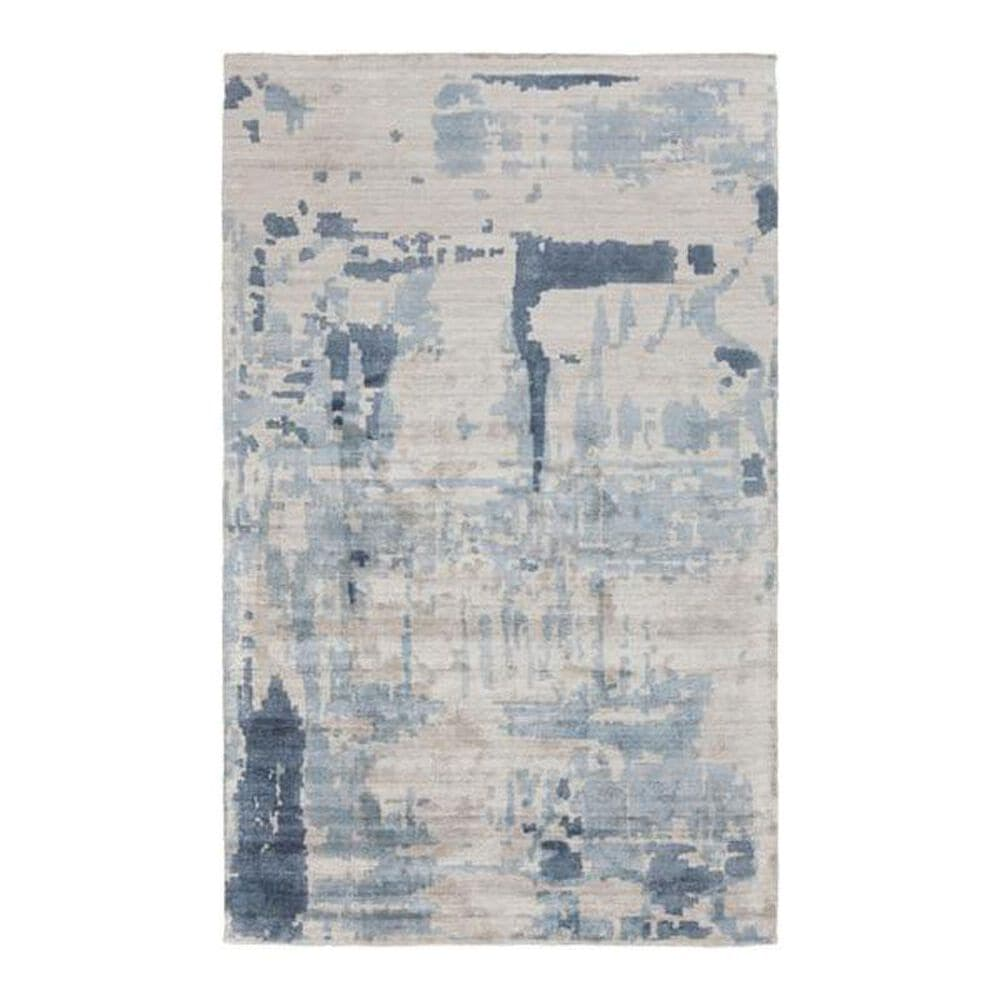 Surya Silence SIL-7002 2' x 3' Gray/Charcoal/Gray Scatter Rug, , large