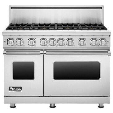 "Viking Range 48"" Liquid Propane Gas Range with 8-Burner in Stainless Steel, , large"