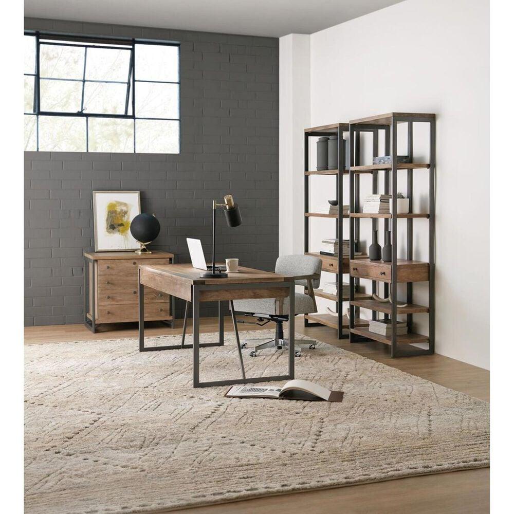 Hooker Furniture Bookcase in Medium Wood, , large