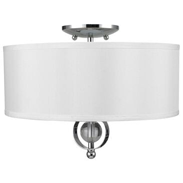Golden Lighting Cerchi Flush Mount in Chrome, , large