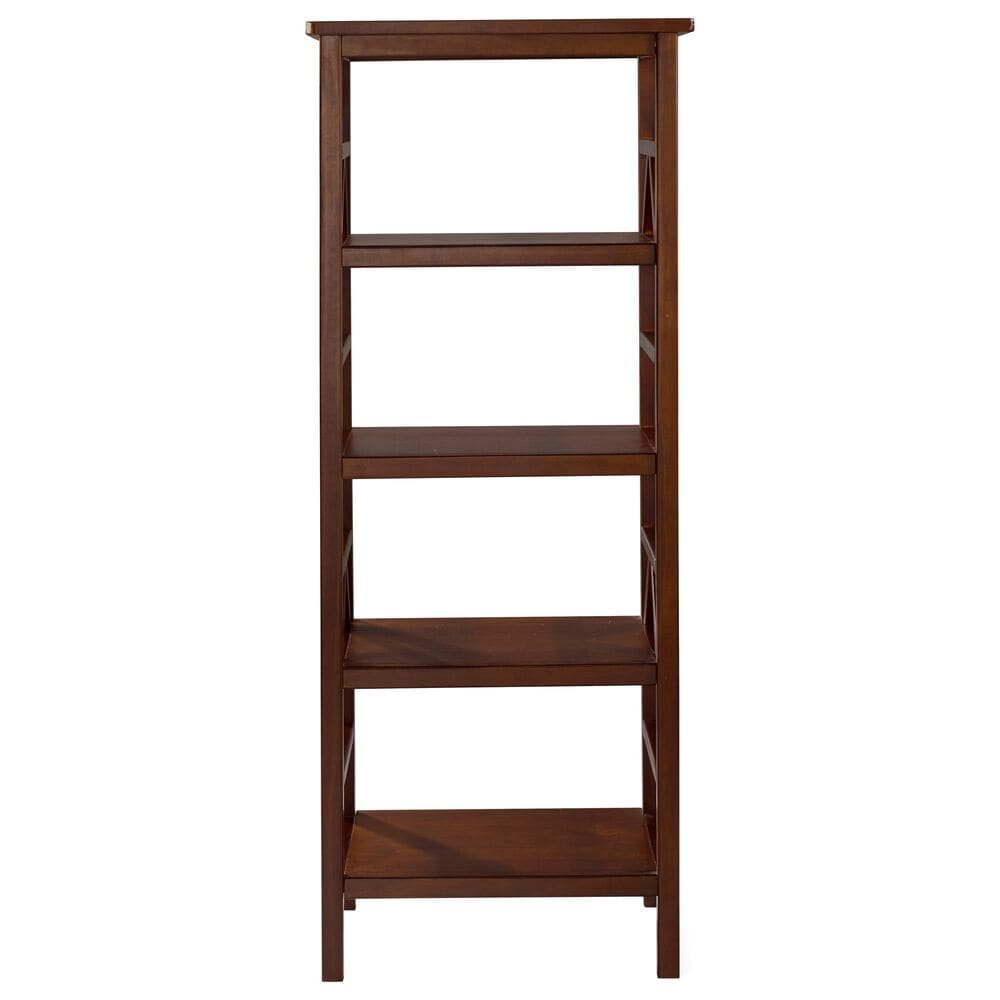 Linden Boulevard Josette Bookcase in Brown, , large