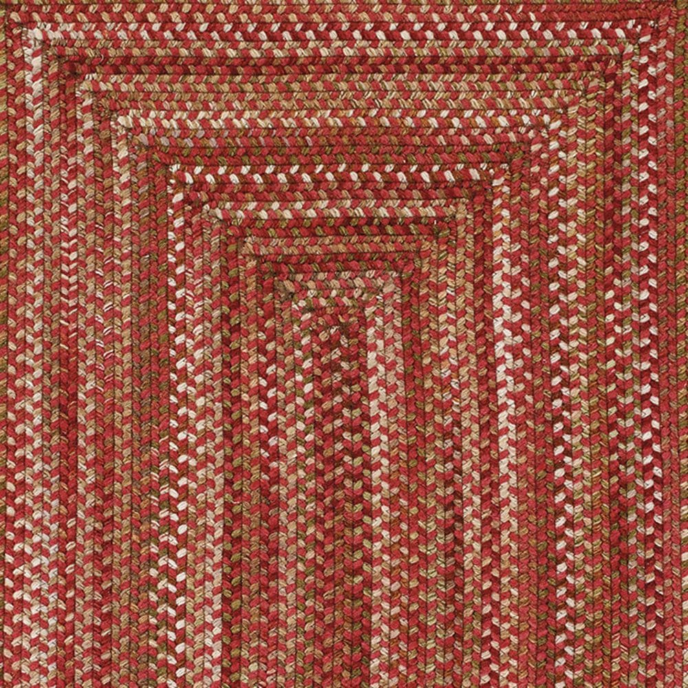 """Capel Homecoming 0048-500 8'6"""" Round Rosewood Red Area Rug, , large"""