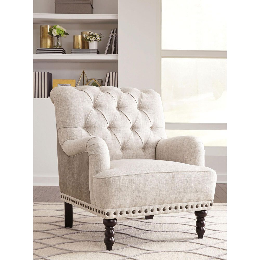 Signature Design by Ashley Zossen Accent Chair in Ivory , , large
