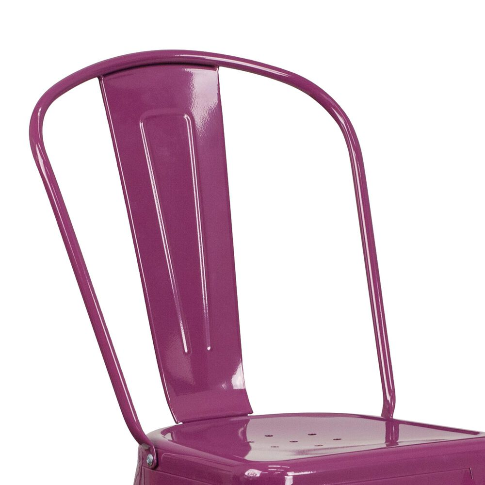 "Flash Furniture 30"" Barstool in Purple, , large"