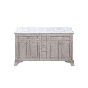 "Aurafina Wainwright 60"" Vanity with Top and 2 Sinks in Old Harbor Gray, , large"