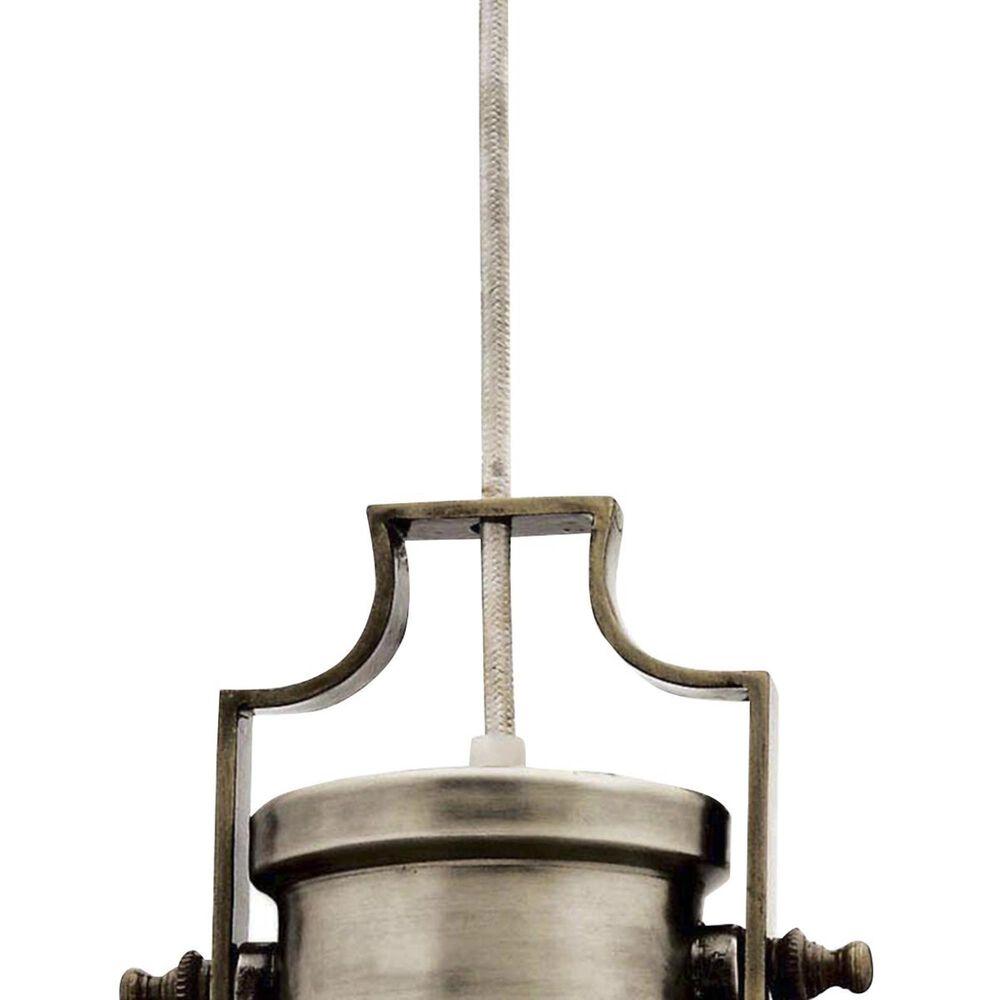 Kenroy Nautilus 1-Light Pendant in Nickel, , large