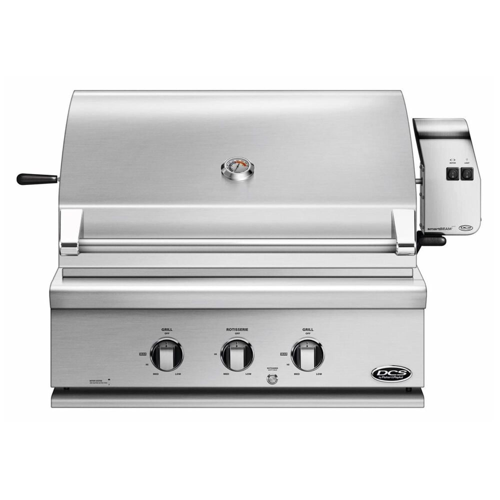 "Fisher and Paykel 30"" Traditional Liquid Propane Grill with Rotisserie in Stainless Steel, , large"