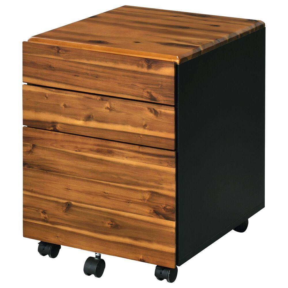 Gunnison Co. Jurgen File Cabinet in Oak/Black, , large