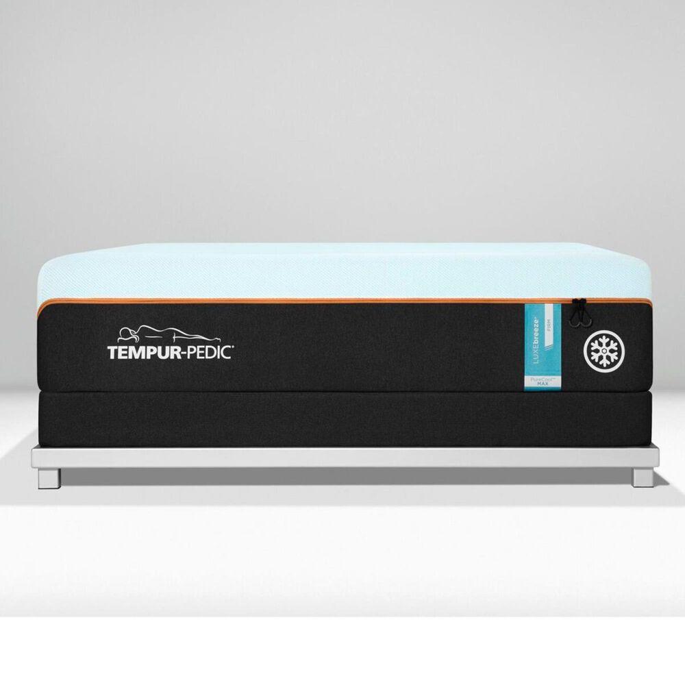 Tempur-Pedic TEMPUR-LUXEbreeze Firm King Mattress with Low Profile Box Spring, , large