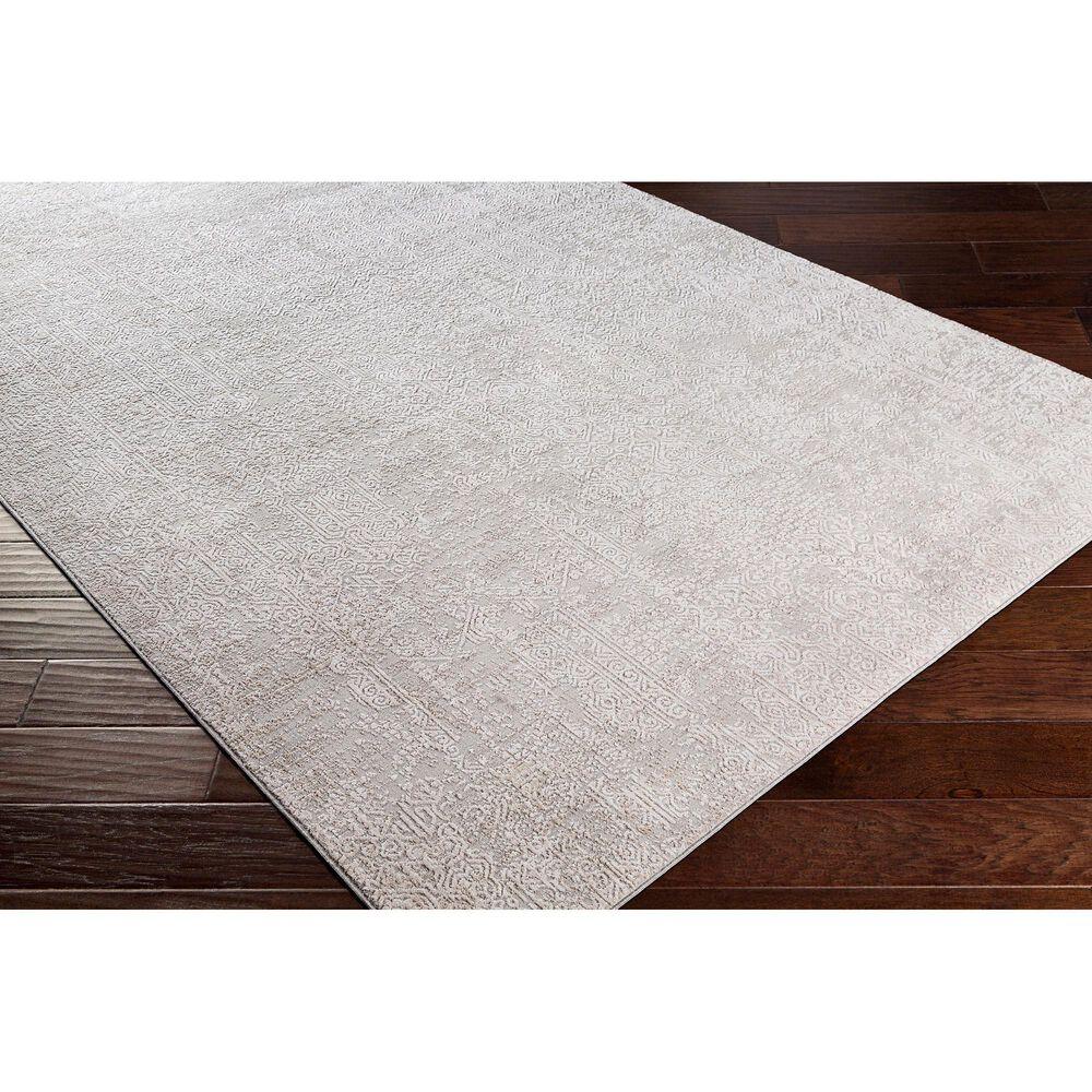 Surya Carmel 10' x 14' Gray, White, Taupe and Ivory Area Rug, , large