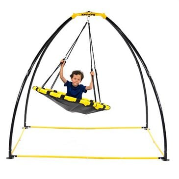 Jumpking Backyard UFO Multidirectional Twisting and Turning Swing, , large