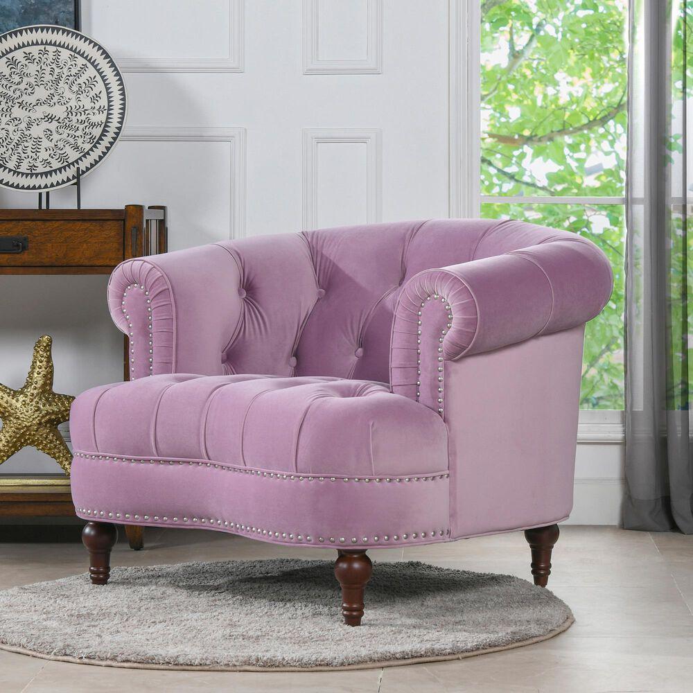 Jennifer Taylor Home La Rosa Accent Chair in Lavender, , large