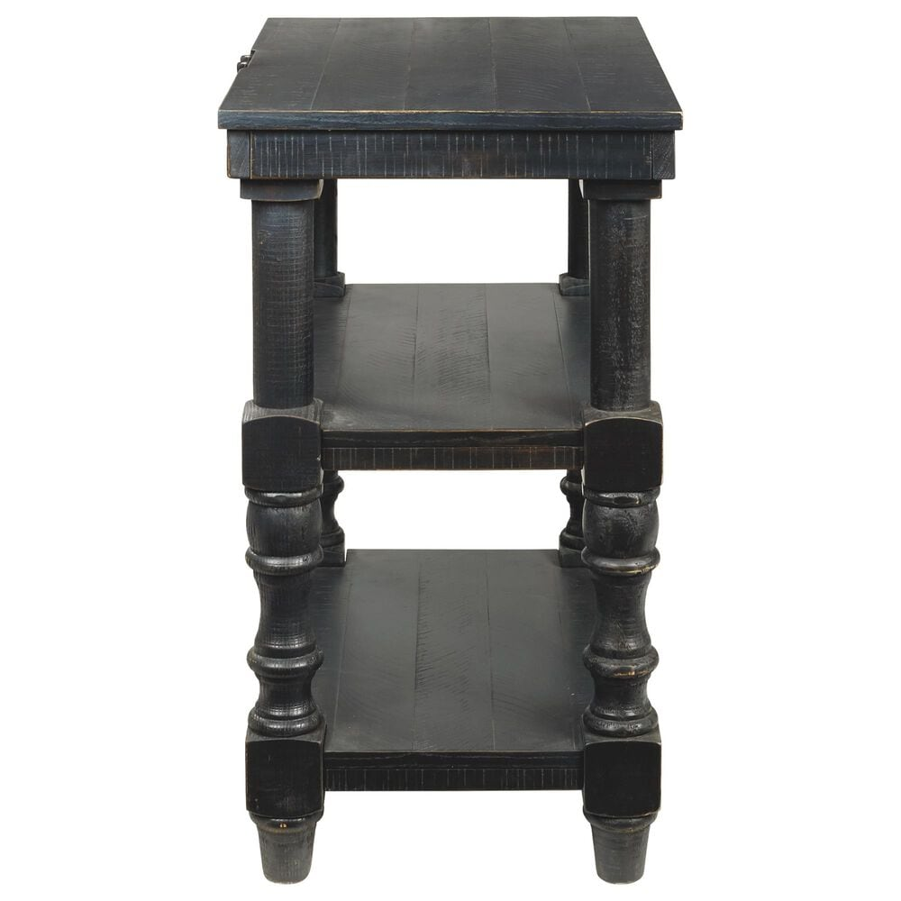 Signature Design by Ashley Dannerville Accent Table in Antique Black, , large