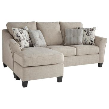 Signature Design by Ashley Abney Left Facing Sofa with Chaise in Gray, , large