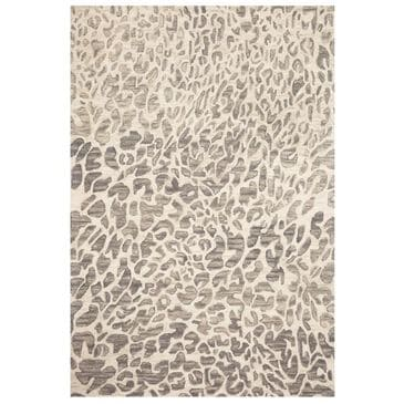 "Loloi Masai MAS-02 7'9"" x 9'9"" Grey and Ivory Area Rug, , large"