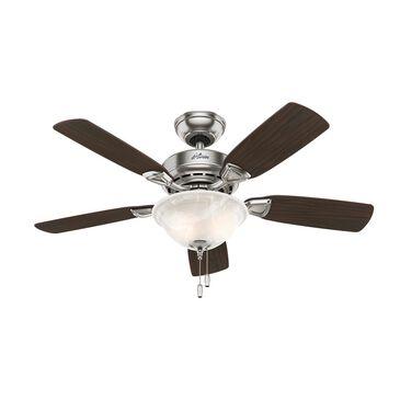 "Hunter Caraway 44"" Ceiling Fan in Brushed Nickel, , large"