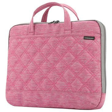Volkano 15.6 Laptop Shoulder Bag in Pink, , large