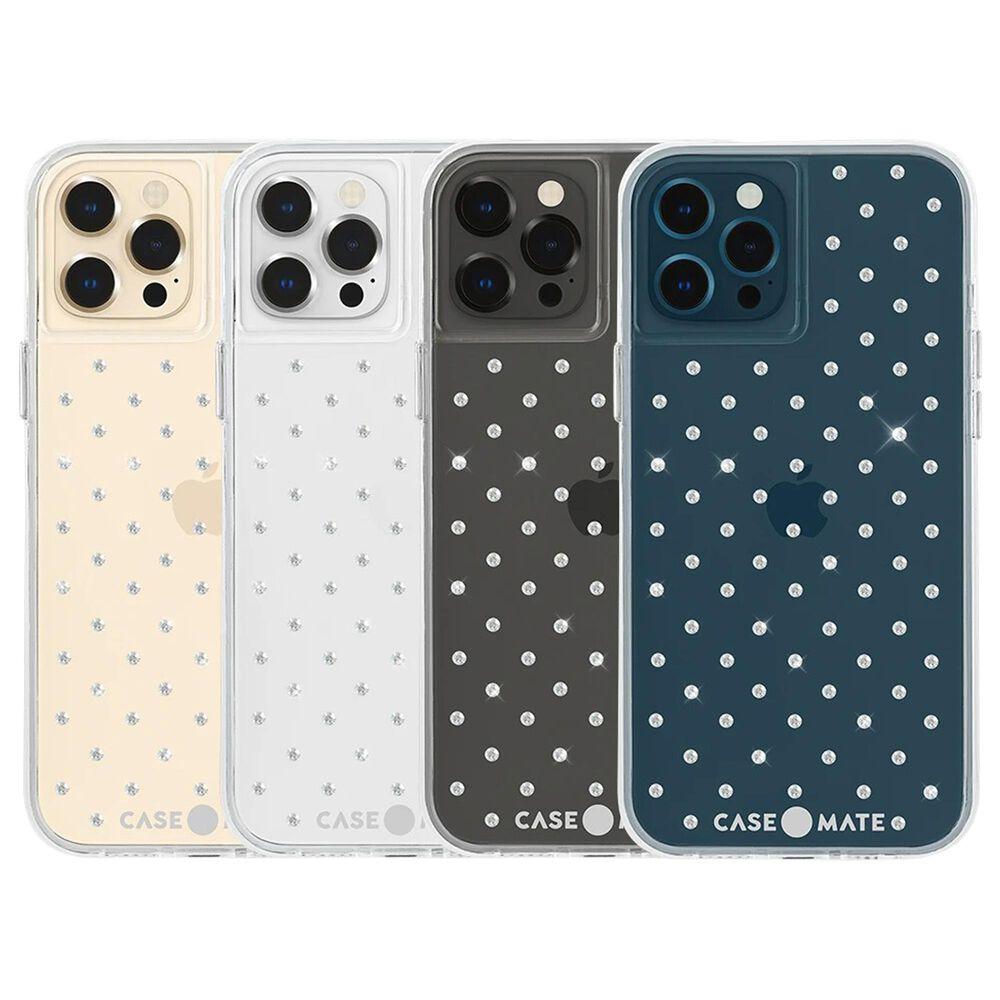 Case-Mate Gem Case For Apple iPhone 12 / 12 Pro in Sheer Gems, , large